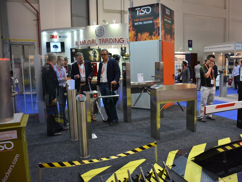 Tripod turnstiles and Gate, Intersec 2015