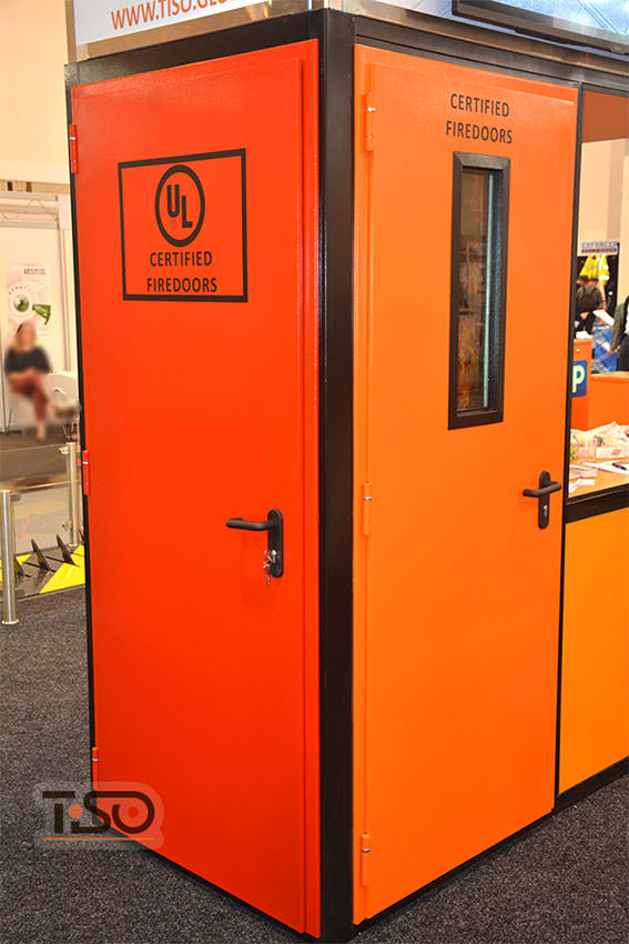 Fire-resistant doors (UL certified), ESSEN 2016